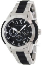 Emporio Armani Exchange Chronograph Sort/Stål