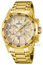 Festina Guldfarvet/Gul guldtonet stål