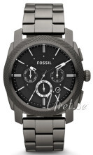 Fossil Machine Sort/Stål Ø45 mm