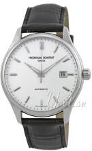 Frederique Constant Classics Sølvfarvet/Læder
