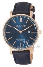 Gant Blå/Læder Ø42 mm