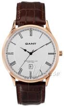 Gant Sølvfarvet/Læder