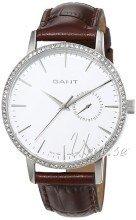 Gant Park Hill II Sølvfarvet/Læder