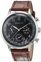 Gant Sort/Læder Ø42 mm