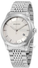 Gucci G-Timeless Sølvfarvet/Stål Ø38 mm