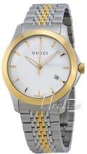 Gucci G-Timeless Sølvfarvet/Gul guldtonet stål