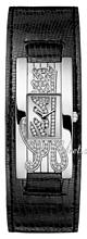 Guess Sølvfarvet/Læder 39x20 mm