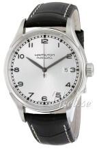 Hamilton American Classic Timeless Valiant Sølvfarvet/Læder