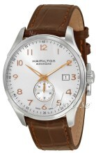 Hamilton Sølvfarvet/Læder