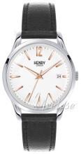 Henry London Knightsbridge Hvid/Læder