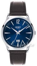 Henry London Harrow Blå/Læder