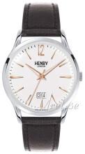 Henry London Stratford Hvid/Læder
