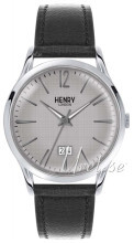 Henry London Richmond Sølvfarvet/Læder