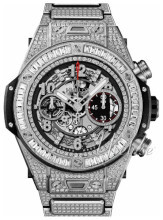 Hublot Big Bang 44.5mm Skeletskåret/Titanium Ø44.5 mm
