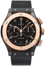 Hublot Classic Fusion Sort/Gummi Ø45 mm