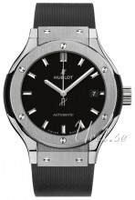 Hublot Classic Fusion Sort/Gummi Ø33 mm