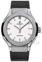 Hublot Classic Fusion Hvid/Gummi Ø33 mm