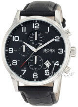 Hugo Boss Contemporary Sport Sort/Læder