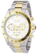 Hugo Boss Hvid/Gul guldtonet stål