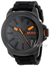 Hugo Boss Sort/Gummi