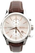 Hugo Boss Sølvfarvet/Læder