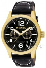 Invicta I-Force Sort/Læder