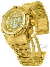 Invicta Bolt Guldfarvet/Gul guldtonet stål