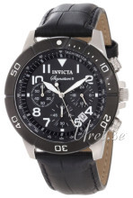 Invicta Signature II Sort/Læder Ø43.5 mm