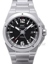 IWC Ingenieur Sort/Stål Ø43 mm