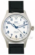 IWC Pilots Classic Hvid/Læder Ø40 mm