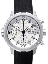 IWC Aquatimer Chronograph Hvid/Gummi Ø44 mm