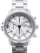 IWC Aquatimer Chronograph Sølvfarvet/Stål Ø44 mm