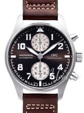 IWC Chronograph Antoine de Saint Exupery Brun/Læder Ø43 mm