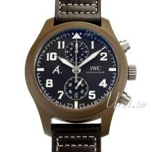 IWC Pilots Classic Brun/Læder Ø46 mm