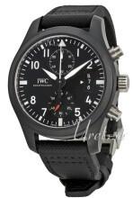 IWC Pilots Classic Sort/Læder