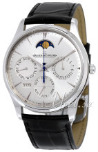 Jaeger LeCoultre Master Ultra Thin Perpetual Stainless Steel Søl