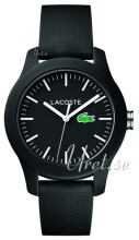 Lacoste Sort/Gummi Ø38 mm