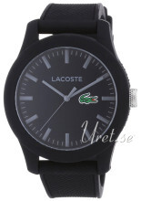 Lacoste Sort/Gummi Ø42 mm
