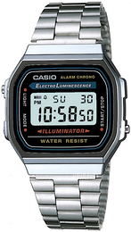 Casio Casio Collection Stål 38.6x36.3 mm A168WA-1YES