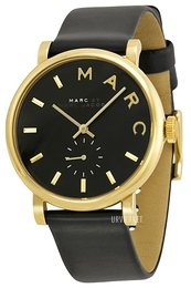 Marc by Marc Jacobs Baker Sort/Læder Ø37 mm MBM1269