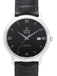 Omega De Ville Prestige Co-Axial 39.5mm Sort/Læder Ø39.5 mm 424.13.40.20.01.001