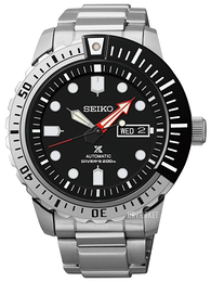 Seiko Divers Sort/Stål Ø44 mm SRP587