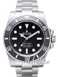Rolex Submariner Sort/Stål Ø40 mm 114060-0002