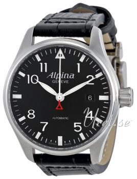 Alpina Startimer Sort/Læder