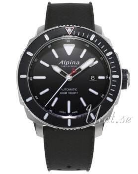 Alpina Seastrong Sort/Gummi