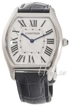 Cartier Tortue Sølvfarvet/Læder
