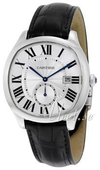 Cartier Drive De Cartier Sølvfarvet/Læder