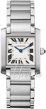 Cartier Tank Francaise Sølvfarvet/Stål