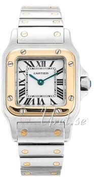 Cartier Santos de Cartier Small Hvid/Stål 25x25 mm