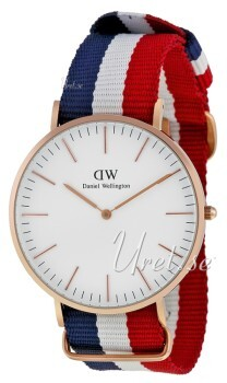 Daniel Wellington Classic Antikhvid/Tekstil Ø40 mm